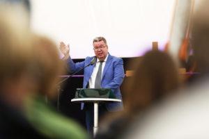 Lähetysjohtaja Mika Tuovinen, kuva: Matti Korhonen